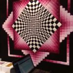 quilt, contest, creative, pink, art