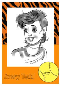 Brotherton, fastpitch, fastpitch softball, girls, Lady Tigers, score, softball team, teamwork, sport, play, Avery Todd
