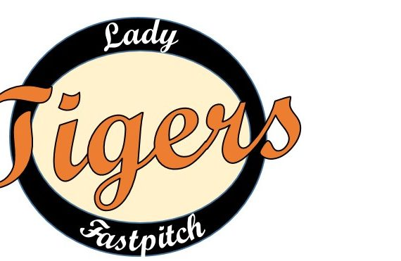 Lady Tigers, logo, softball, fastpitch, sports, team, girls