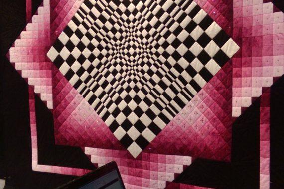 quilt, contest, creative, pink, art. midatlantic quilt, festival