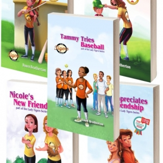All 5 Lady Tigers Books